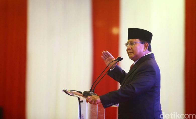 Prabowo: Kita Harus Menang Selisih 25% karena akan Dicuri Belasan Persen