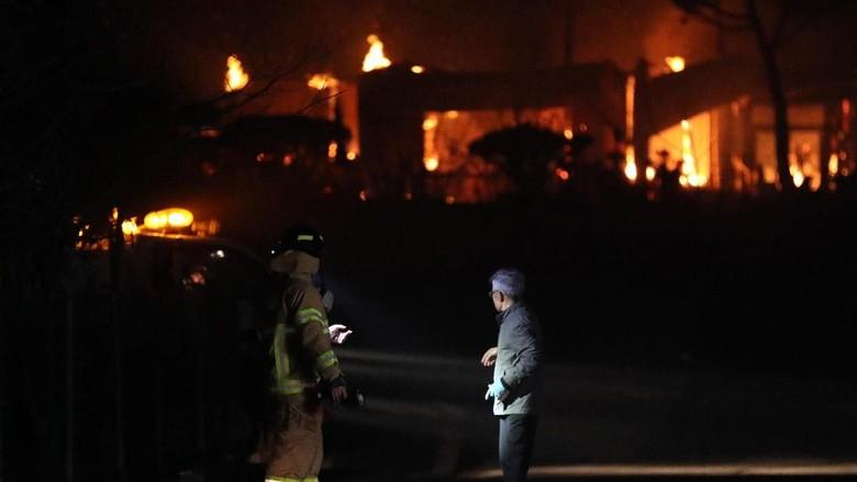 4 Ribu Orang Mengungsi, Korsel Nyatakan Kebakaran Hutan Bencana Nasional
