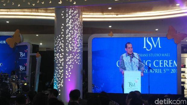 Chairman CT Corp, Chairul Tanjung (Wahyu/detikcom)