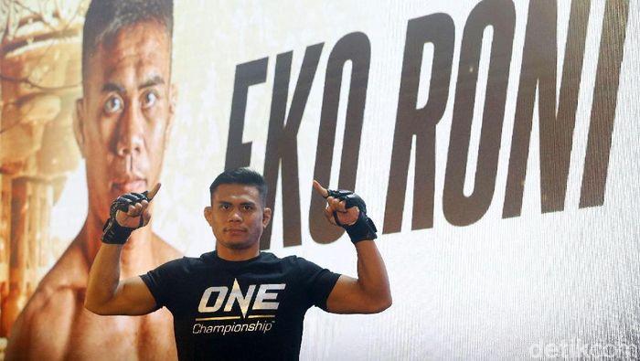Eko Roni Saputra akan tampil di ONE Championship 2019 (Grandyos Zafna/detikSport)