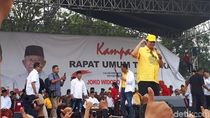 Dampingi Maruf Kampanye, Airlangga Tanya Kesiapan Pendukung Menangkan 01