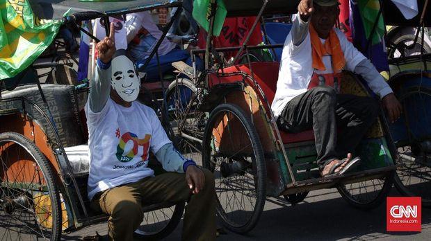 Pendukung Militan, Jokowi Targetkan 65 Persen di Indramayu