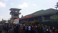 Peresmian Bandara Gatot Subroto di Way Kanan