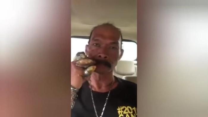 Foto: Pria penghina Jokowi yang ditangkap polisi di Bogor (ist)