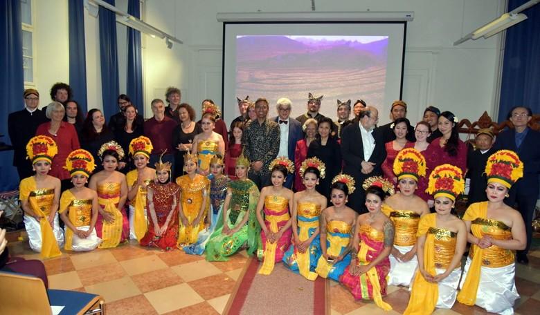KBRI Wina Tampilkan Gamelan di Festival University of Vienna