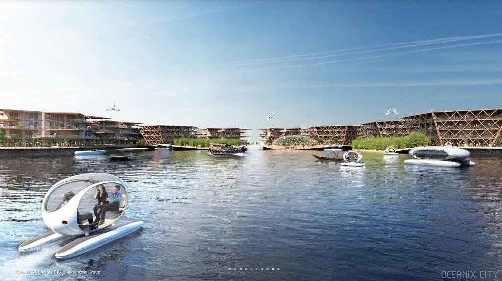 Inikah Bentuk Reinkarnasi Atlantis di Masa Depan?