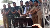 Bareng KSAD, Menhub Buka Bandara Baru di Lampung