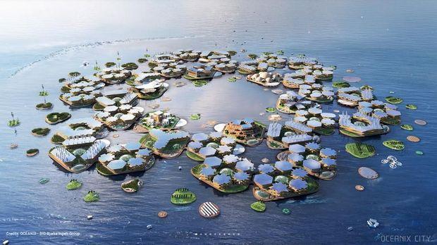 Inikah Bentuk 'Reinkarnasi' Atlantis di Masa Depan?