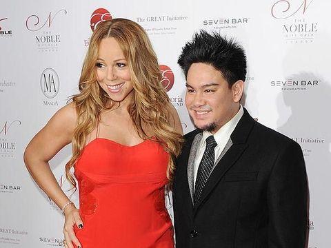Pangeran Azim & Mariah Carey