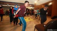 Permainan tersebut merupakan bagian kegiatan belajar Pancasila.