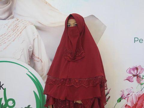 Hijabers bercadar di Sunsilk Hijab Hunt 2019 Bandung
