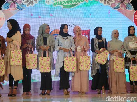 Peserta audisi Sunsilk Hijab Hunt 2019 yang lolos ke tahap dua.
