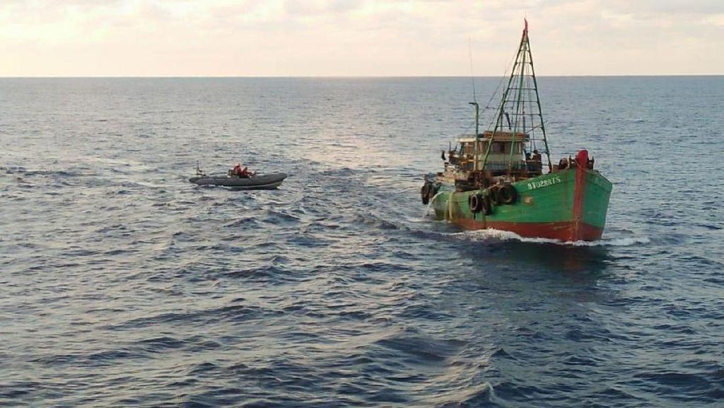 Bakamla: Laut Natuna Utara Paling Rawan Illegal Fishing