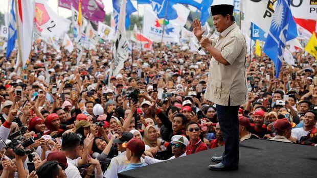 Prabowo: Ibu Pertiwi Tengah Diperkosa, Kekayaan Diambil Terus
