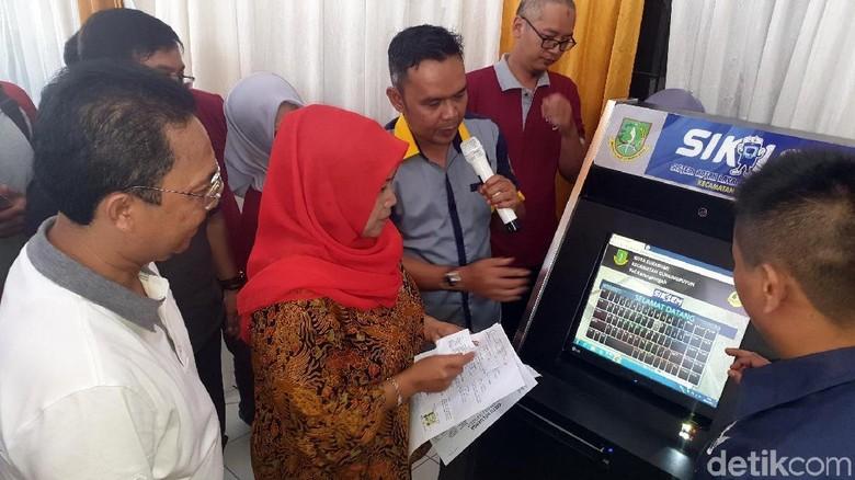 Si Kalem, Mesin Pelayanan Kependudukan dan Izin di Sukabumi