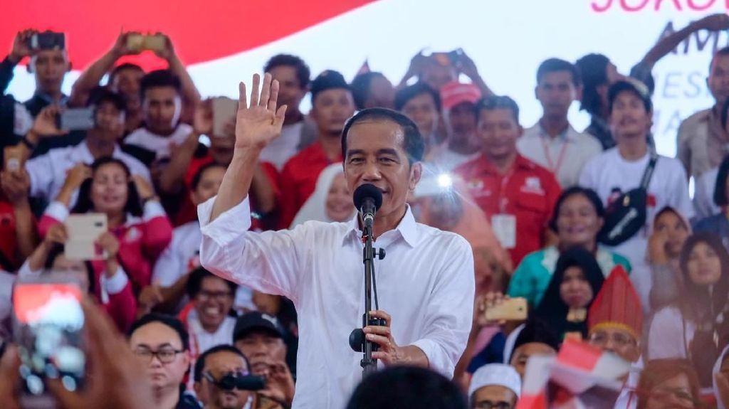 Sepakat dengan SBY, Jokowi: Kampanye Jangan Korbankan Kesatuan