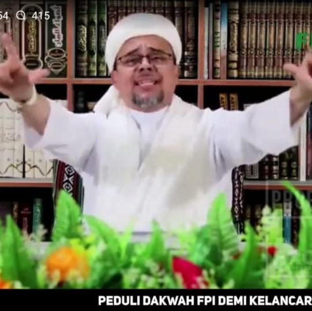 FPI Sebut Rekonsiliasi Selalu Gagal karena Syarat Rizieq Tak Dipenuhi