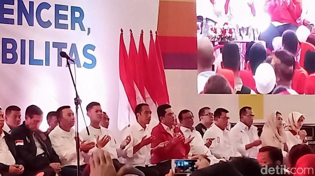 Dukung Jokowi, Komunitas Olahraga Harap RI Tuan Rumah Olimpiade 2032
