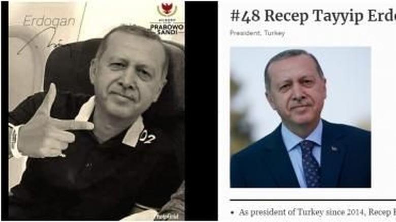 Hoax Erdogan Pro-Prabowo Dibongkar Media Prancis, BPN: Bukan dari Kami