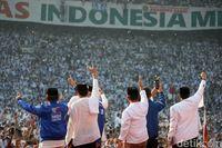 Kampanye Akbar Prabowo-Sandi di GBK.