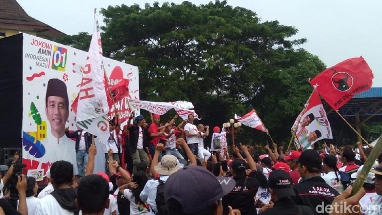 Maruf Amin Tiba di Lokasi Pawai Karnaval Bersatu