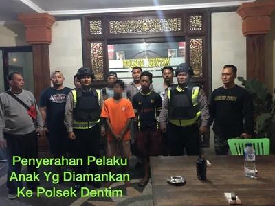 2 Bocah Penjarah Duit Sesajen Melasti Diciduk Polisi