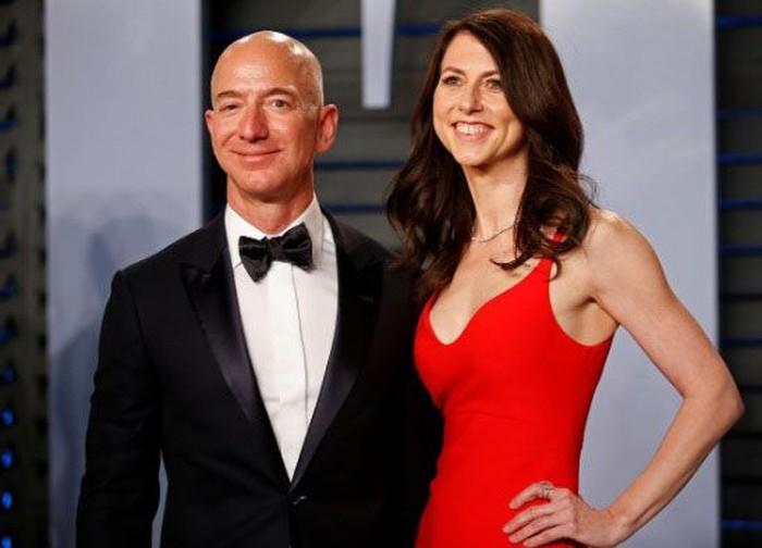 Potret Kompak Jeff dan MacKenzie Bezos Sebelum Bercerai