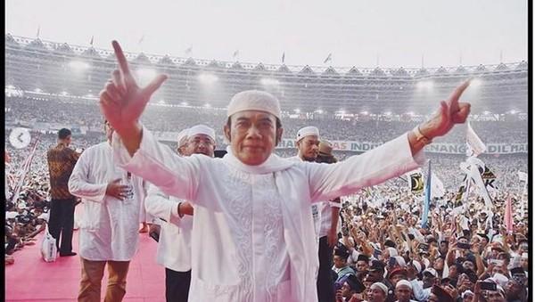 Putihkan GBK, Rhoma Irama Sebut Indonesia Menang