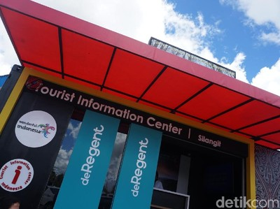 Uniknya Tourist Information Center di Bandara Silangit