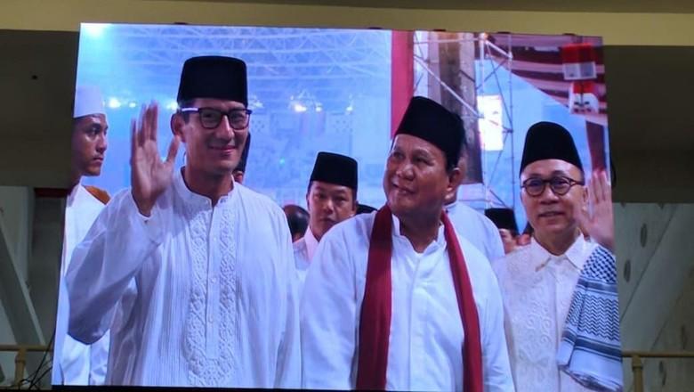 Kampanye Akbar, Prabowo-Sandiaga Sudah Berada di GBK