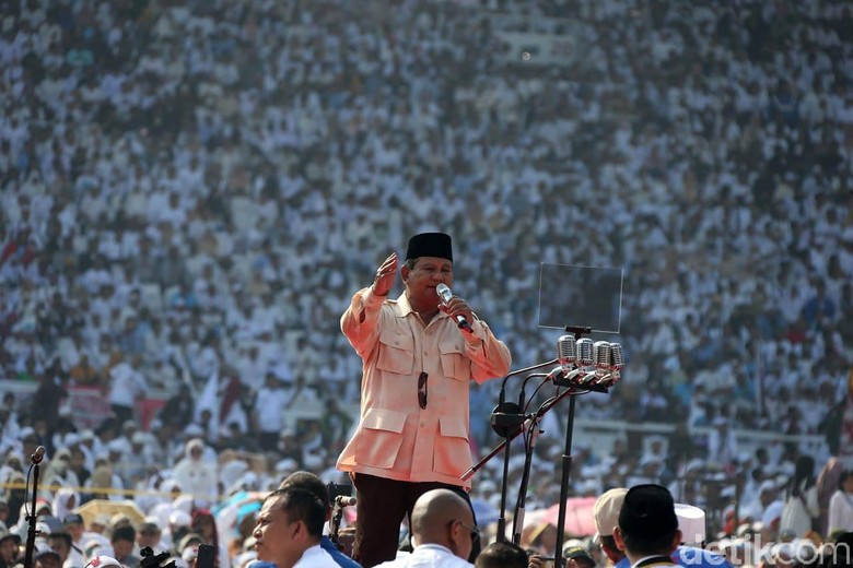 Prabowo Yakin Menang Pilpres: Hitungan Suara Kita Sangat Bagus!