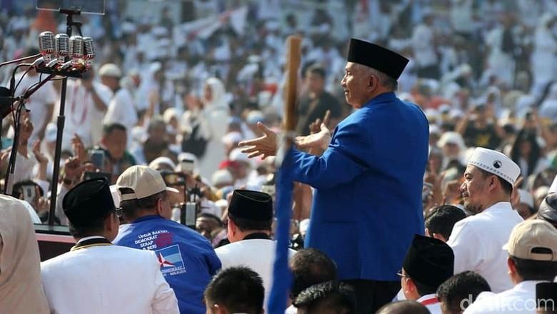 Amien Rais: DNA Bung Karno, Bung Hatta, dan Bung Tomo Ada di Prabowo