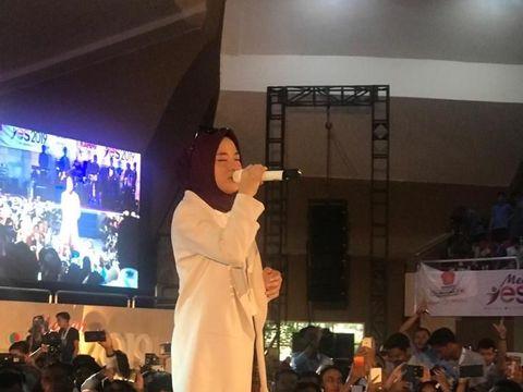 Nissa Sabyan di Medan Yes 2019
