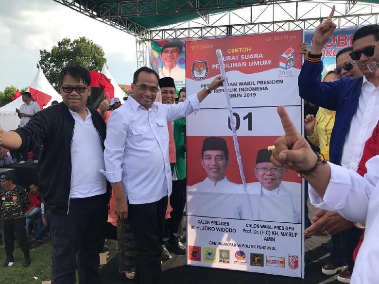 Yakin Jokowi Menang, Menhub Budi Karya Ungkit Hasil Survei