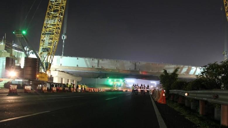 Ada Pengerjaan Jembatan, Lalin di Tol Kunciran Ditutup Pukul 23.00 WIB