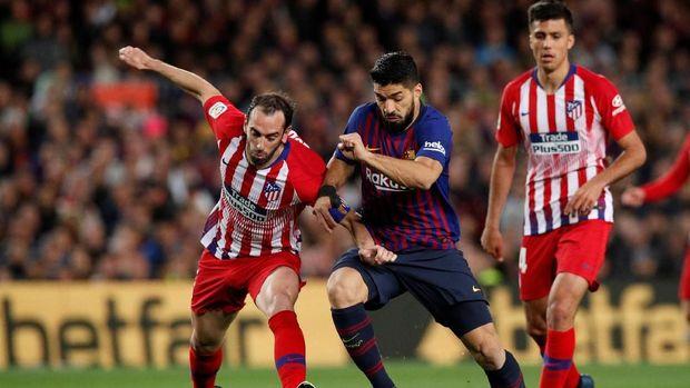 Barcelona sedang unggul 11 poin atas Atletico Madrid.