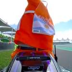 Marshall Beruntung, Bisa Tunggangi Motor Rossi sambil Selfie