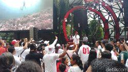 Artis-artis Adakan Konser Putih, Nobatkan Jokowi sebagai Presiden Musisi