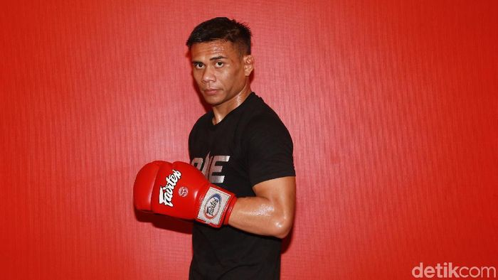 Atlet mixed martial arts (MMA) Eko Roni Saputra. (Foto: Ari Saputra/detikSport)