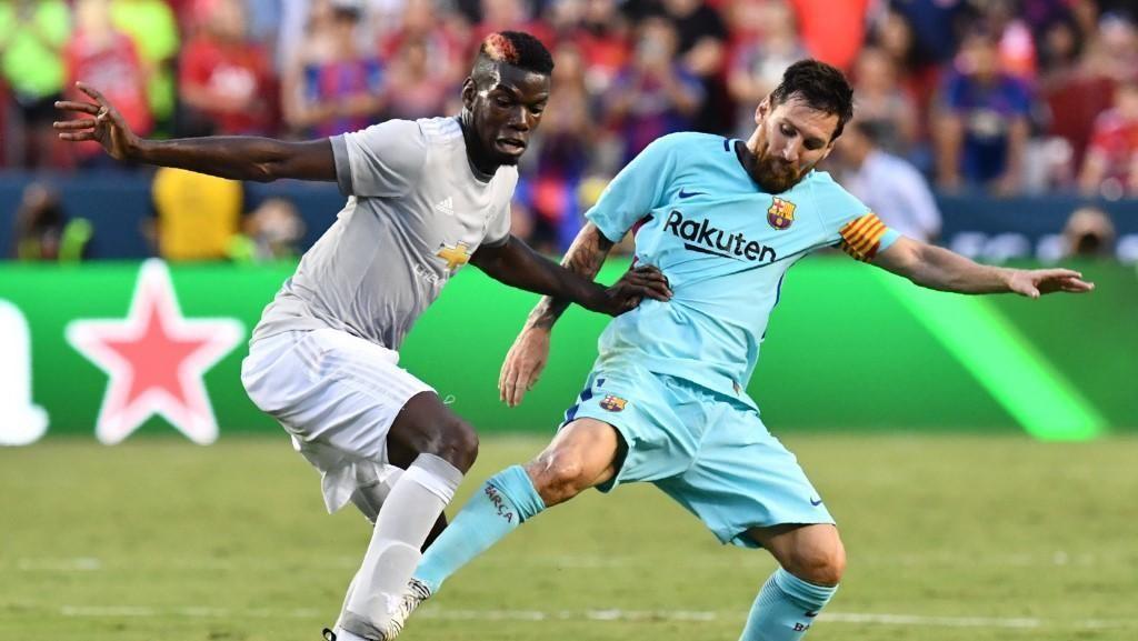 Ibrahimovic: MU Vs Barca Akan Jadi Duel Pogba Vs Messi