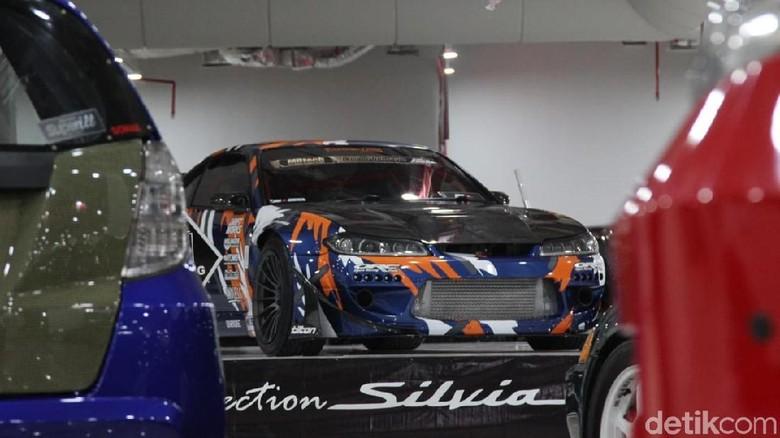 Mobil Nissan Silvia S15 pemenang kontes IAM Balikpapan (Foto: Ridwan Arifin)