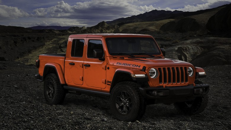 Jeep Gladiator Launch Edition, Foto: Pool : Carscoops