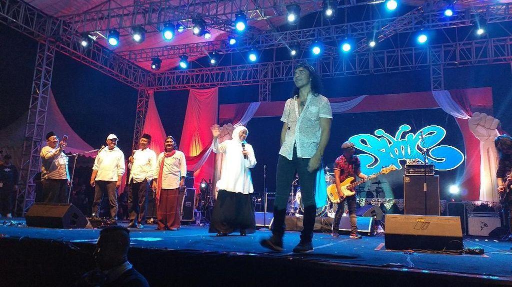 Slank Ajak Putihkan GBK Bareng Jokowi Besok, 500 Artis Bakal Tampil