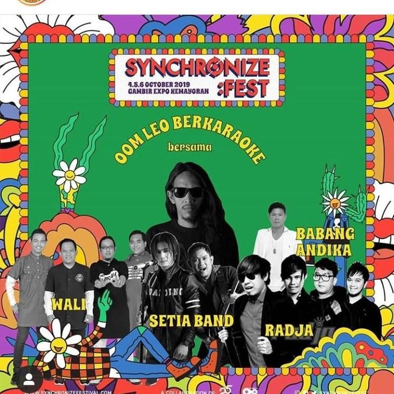 Foto: Instagram Synchronize Fest