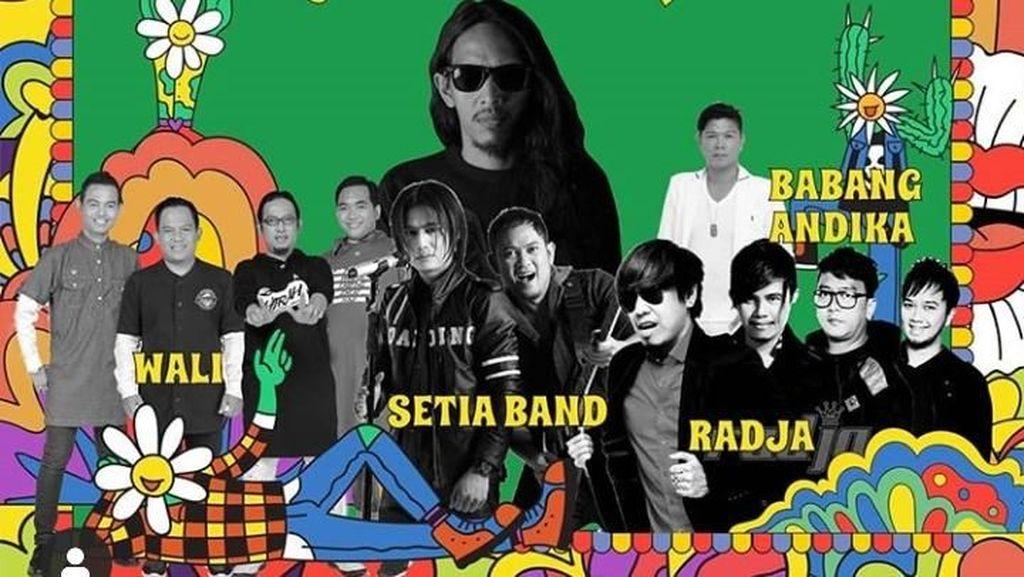 Wali, Radja hingga Babang Tamvan Andika Isi Line Up Synchronize Fest 2019