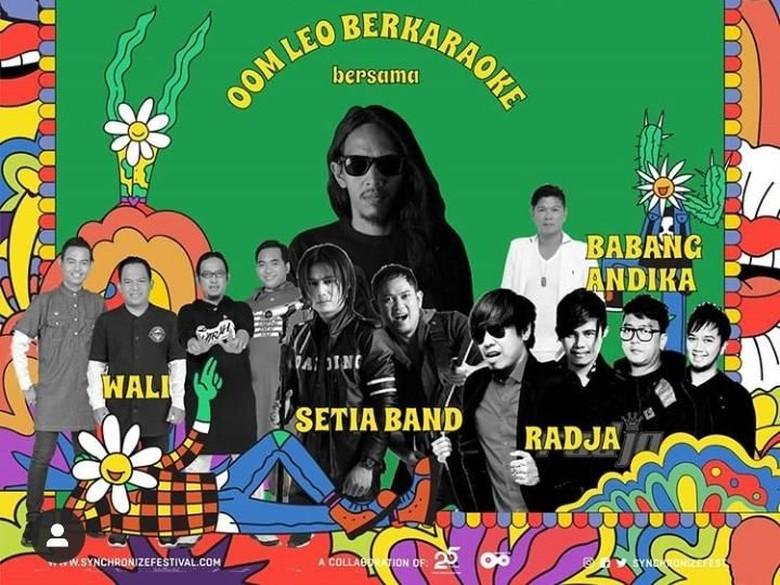 Oomleo Berkaraoke Ajak Musisi Melayu di Synchronize Fest 2019