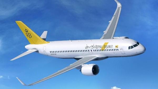 Maskapai penerbangan asal Brunei Darussalam ini juga tak mau kalah dengan para komeptitornya. Layanan terbang tanpa tujuan juga dimiliki oleh maskapai ini (Airbus)