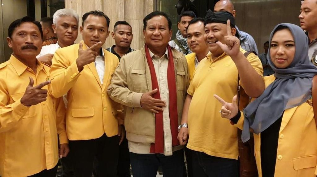 Ikut Aspirasi Kader, Golkar Wonosobo Resmi Dukung Prabowo-Sandi