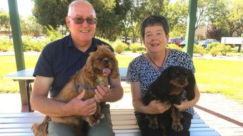Anjing Telan Sekantung Heroin yang Dikubur di Taman dan Selamat