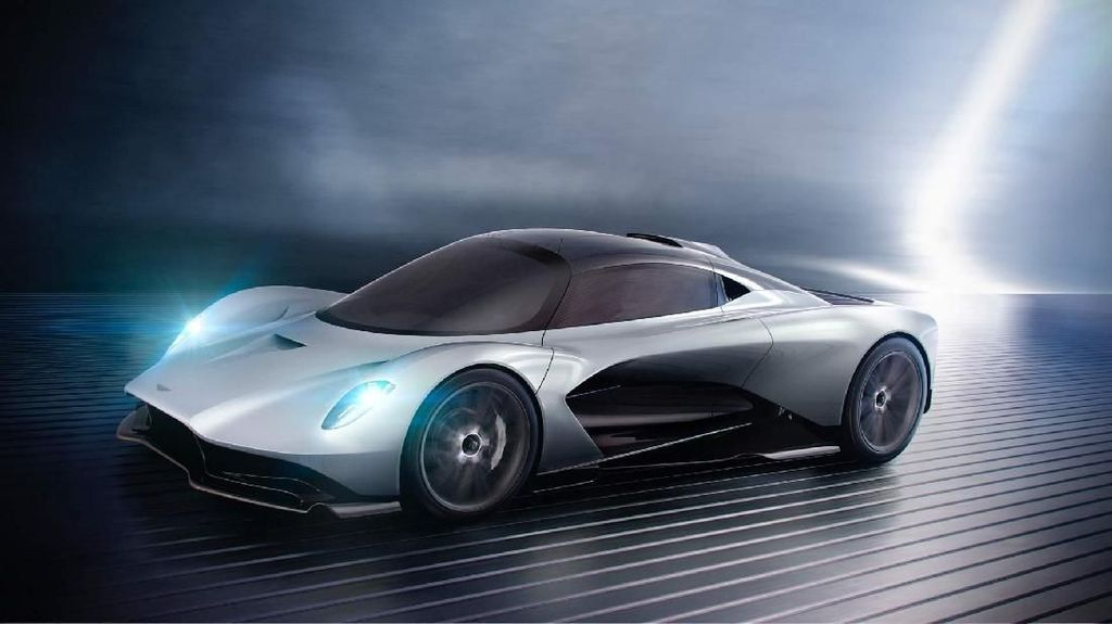 Aston Martin Ini Mampu Lari Setara 1.000 Tenaga Kuda